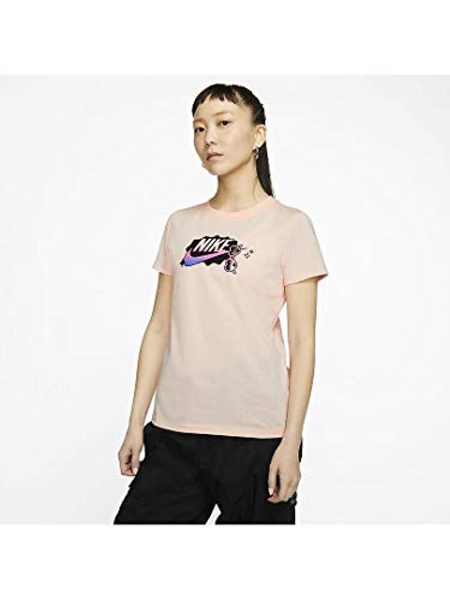 大胆不敵結び目ギャンブル(NIKE)ナイキ ウィメンズ サマー ファン 1 Tシャツ Tシャツ (CU9696) (664)ウォッシュドコーラル XL