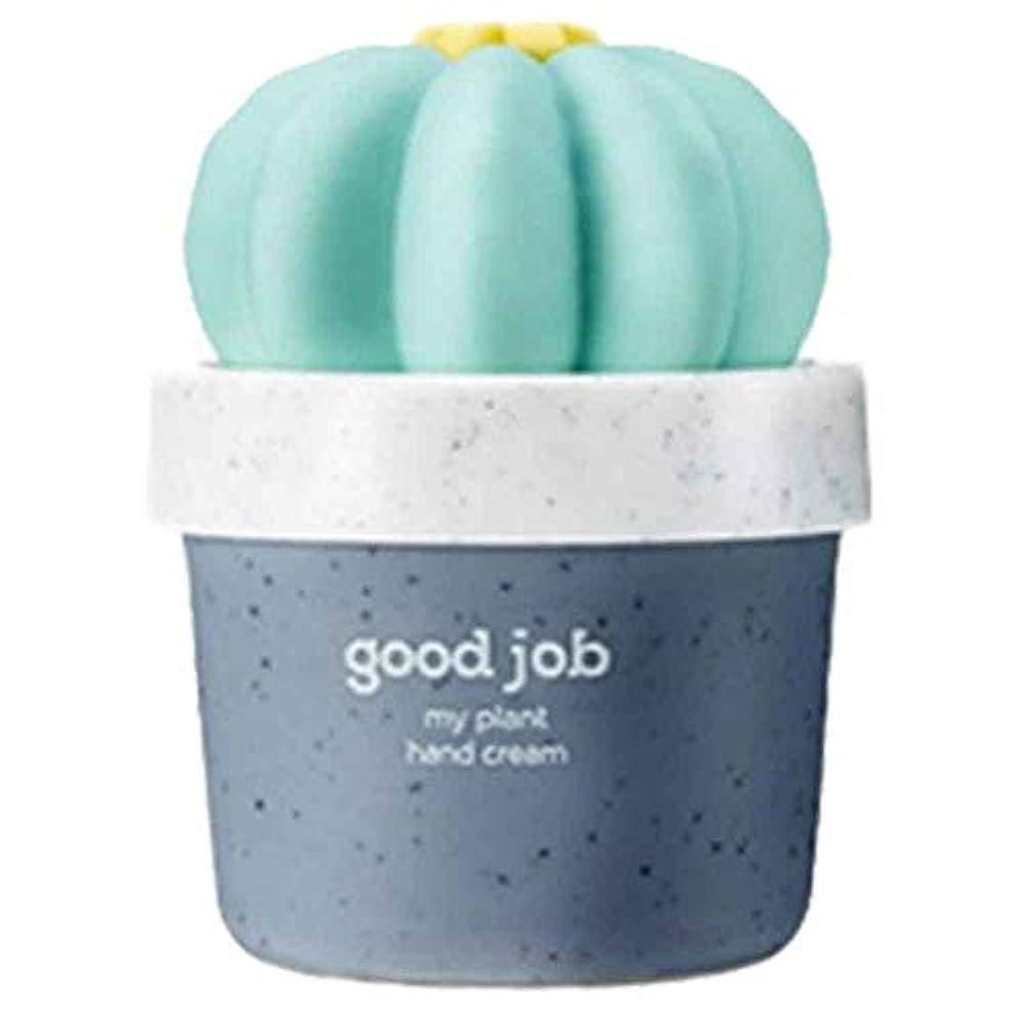 音節敷居咳[THE FACE SHOP] ザフェイスショップ ミニサボテン 鉢植えハンドクリーム #02 Good Job 30ml