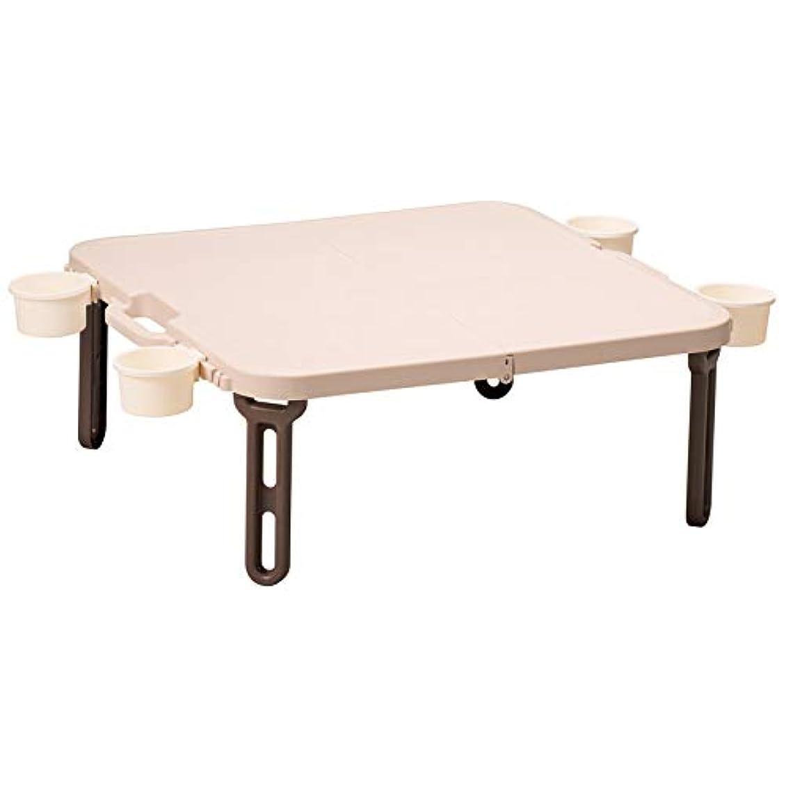 租界意味のあるホスト日本製 ピクニックテーブル 折りたたみテーブル バタフライレジャーテーブル 角型+バタフライバッグセット