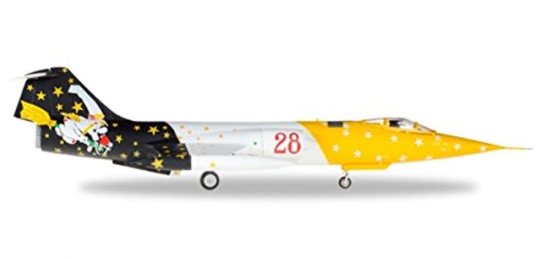 ヘルパ 1/72 RF-104G イタリア空軍 第3航空団 第28飛行隊 Strega 完成品