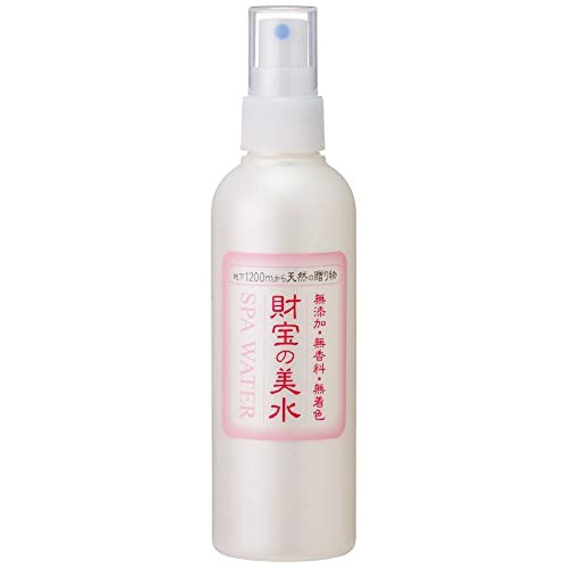悪性採用するジョリー財宝 温泉 美水 ミスト 化粧水 200ml