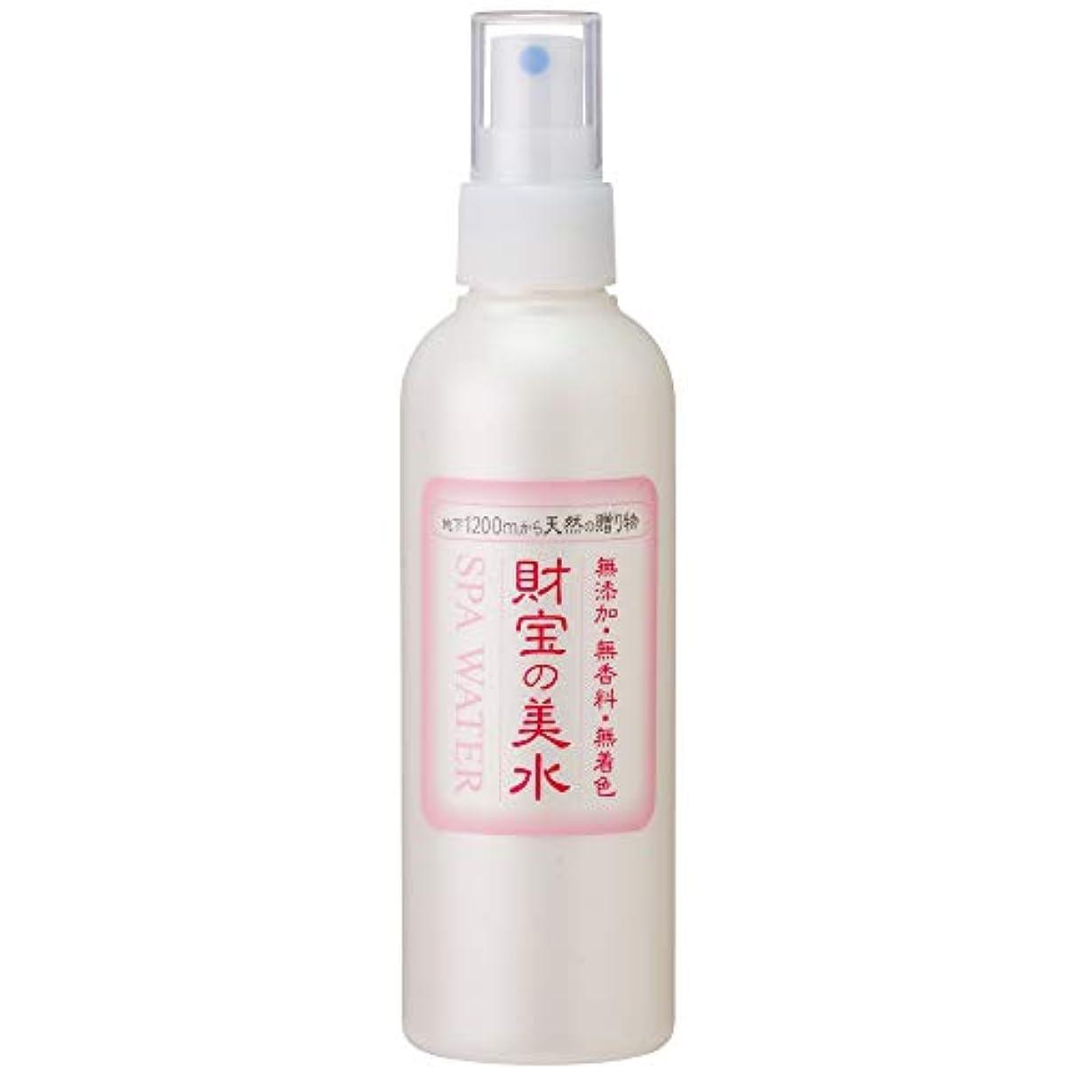 レタス猫背異常な財宝 温泉 美水 ミスト 化粧水 200ml
