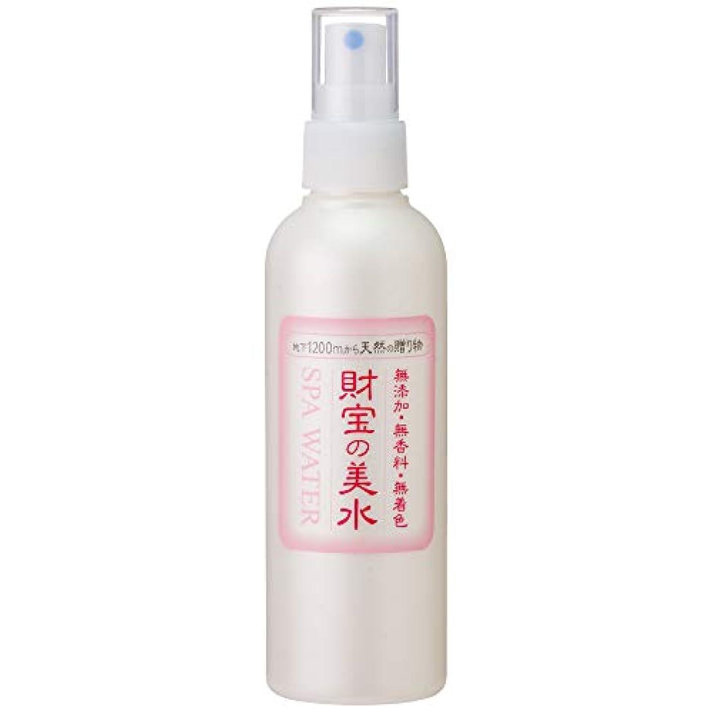 物足りない表面的な会員財宝 温泉 美水 ミスト 化粧水 200ml