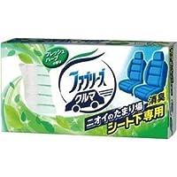 (まとめ) P&G クルマ用置き型ファブリーズ フレッシュハーブの香り 本体 130g 1個 【×5セット】