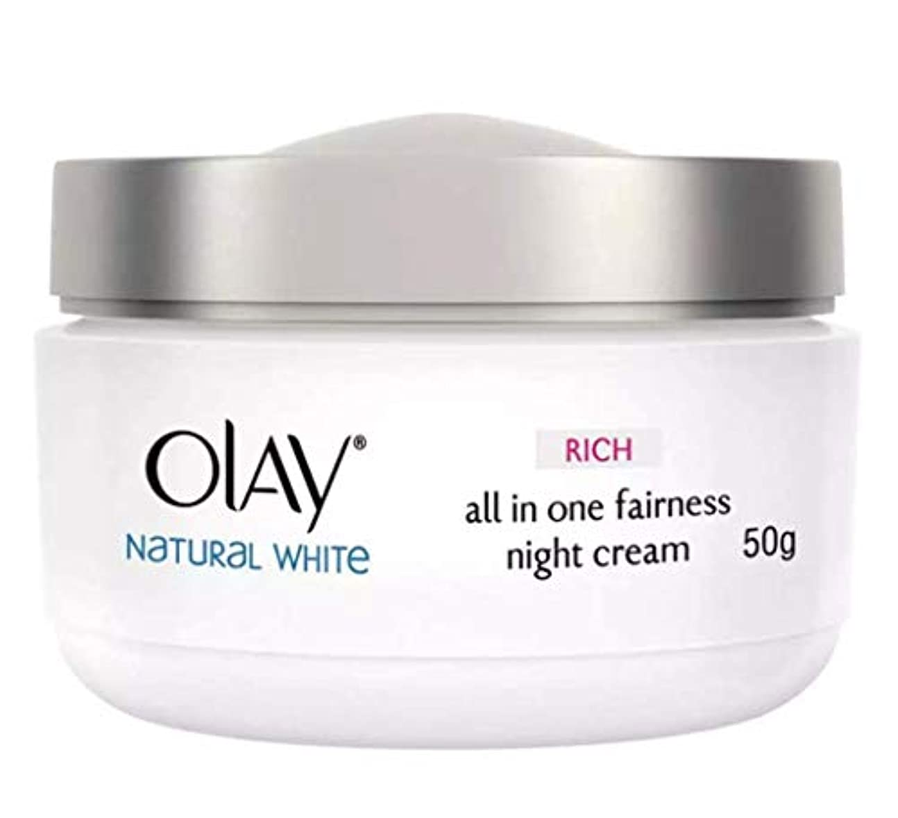 研磨スペイン広くOLAY WHITE RADIANCE NIGHT WHITENING CREAM【NIGHT CREAM】 50g [並行輸入品]