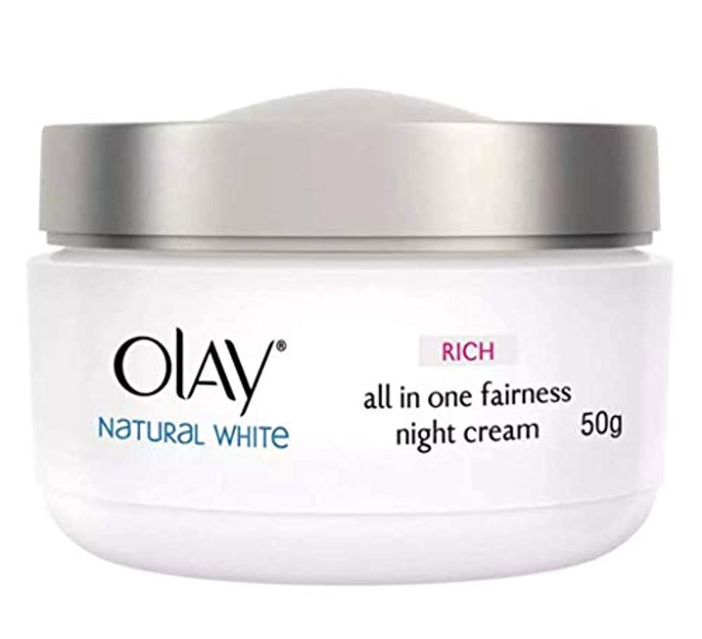 練習珍しい倒錯OLAY WHITE RADIANCE NIGHT WHITENING CREAM【NIGHT CREAM】 50g [並行輸入品]