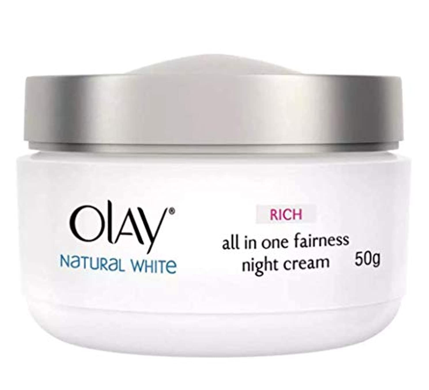 怠けた資格ドットOLAY WHITE RADIANCE NIGHT WHITENING CREAM【NIGHT CREAM】 50g [並行輸入品]