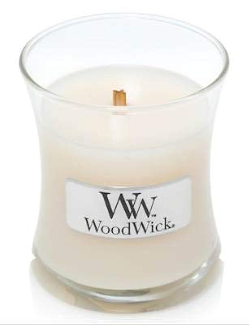 ダイヤモンドオペラおWoodWick ホワイトハニーミニ砂時計香り付きジャーキャンドル