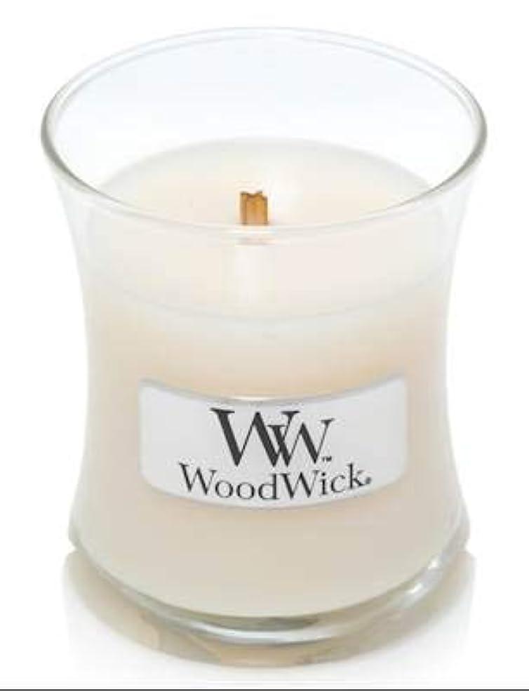 閉じ込めるある関係するWoodWick ホワイトハニーミニ砂時計香り付きジャーキャンドル