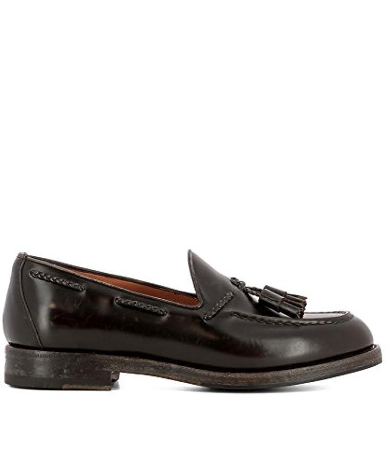 どうやって会議水差しSantoni メンズ MCHI12880JH4INOWT50 ブラウン 革 布鞋