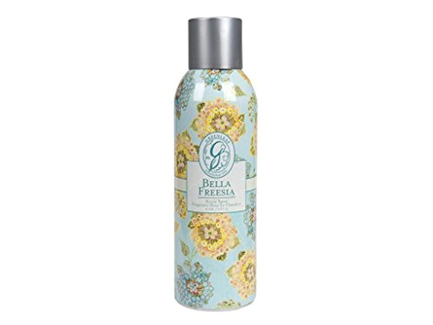 グリース石灰岩勢いGREENLEAF ROOM SPRAY BELLA FREESIA