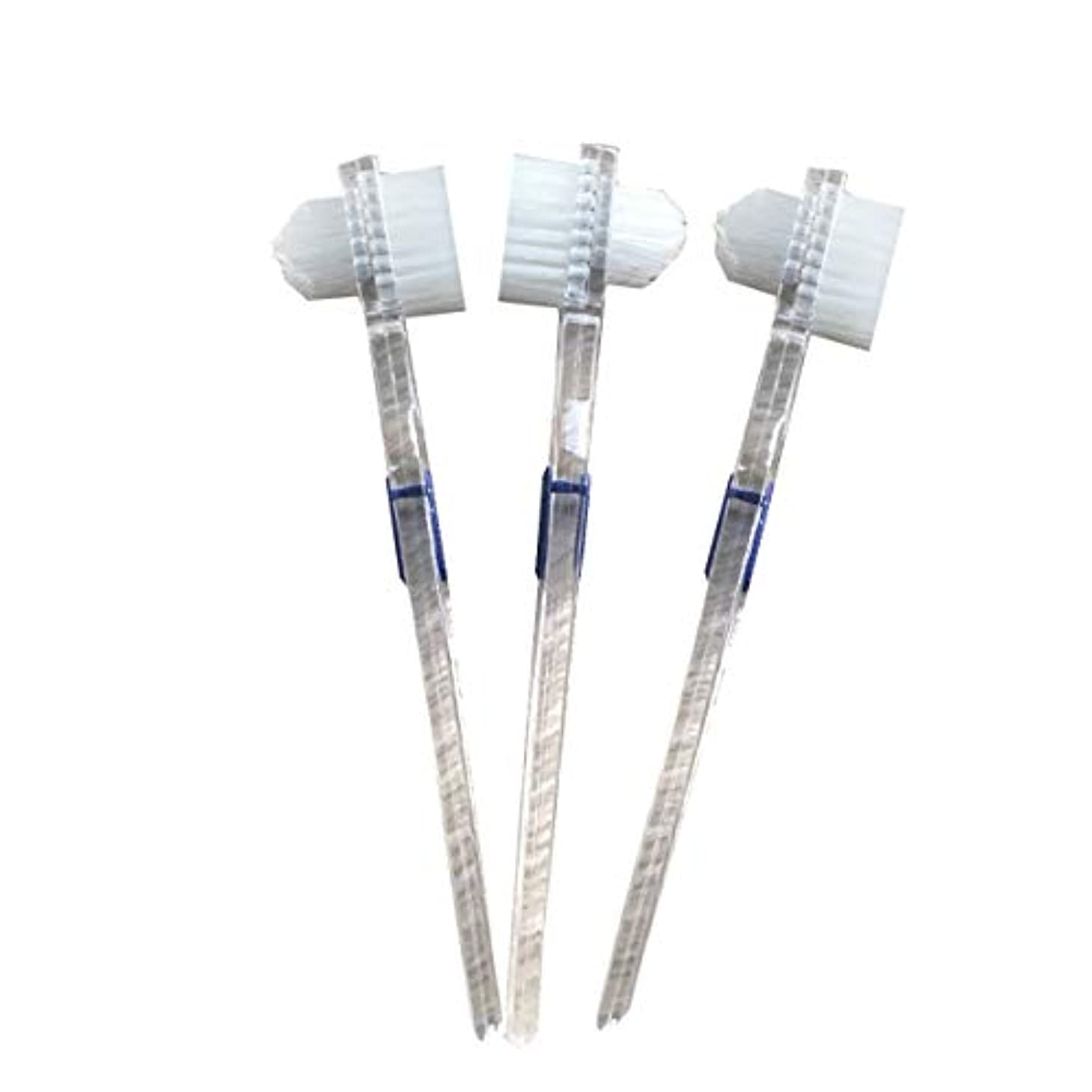 運ぶ中間水没Healifty 二重毛ヘッド義歯ブラシセット義歯ケア9pcsの歯のクリーニングツール