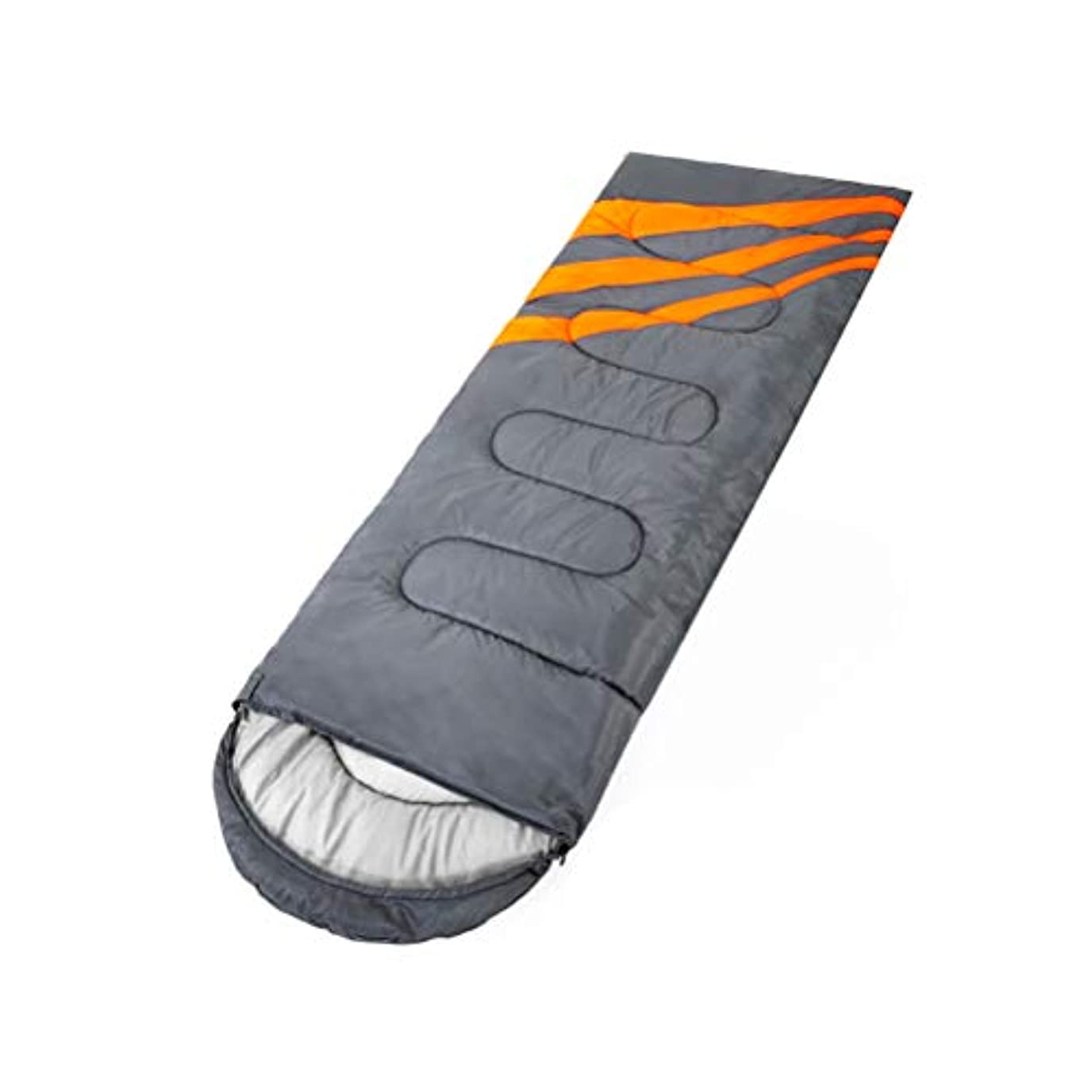 蒸し器伝統的忘れるキャンプ用寝袋合成繊維入りキャンプ用ハイキングバックパッキング涼しい天候でポータブルポータブルキャリア付き220 x 75 cm
