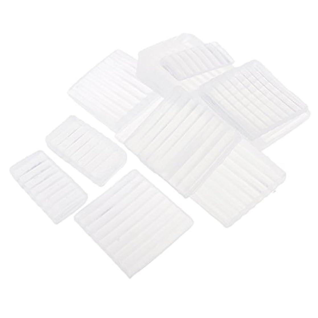 巻き戻すツイン海洋のPerfeclan 約500g ホワイト 透明 石鹸ベース DIY 手作り 石鹸 材料