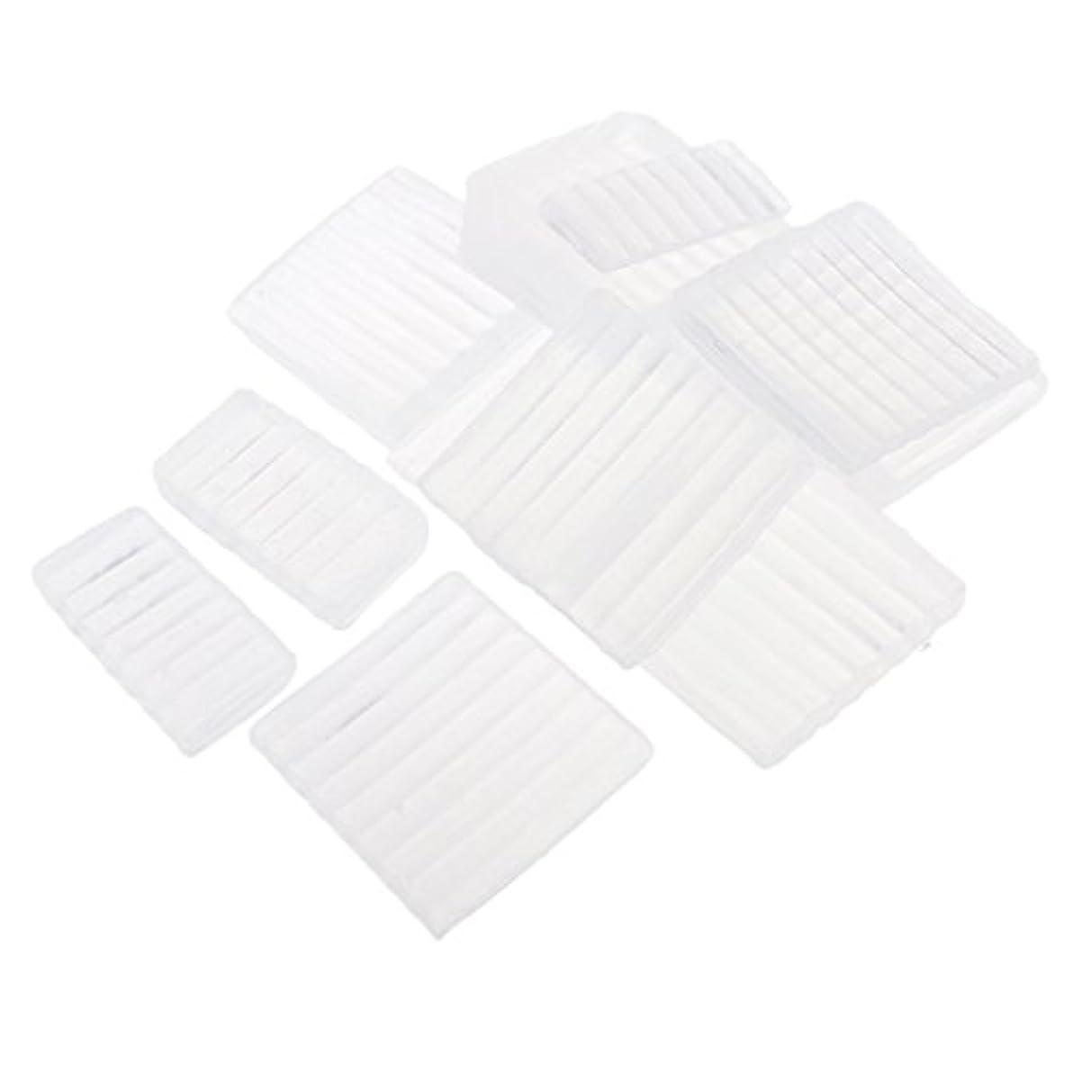 おもてなし後方雪だるまPerfeclan 約500g ホワイト 透明 石鹸ベース DIY 手作り 石鹸 材料