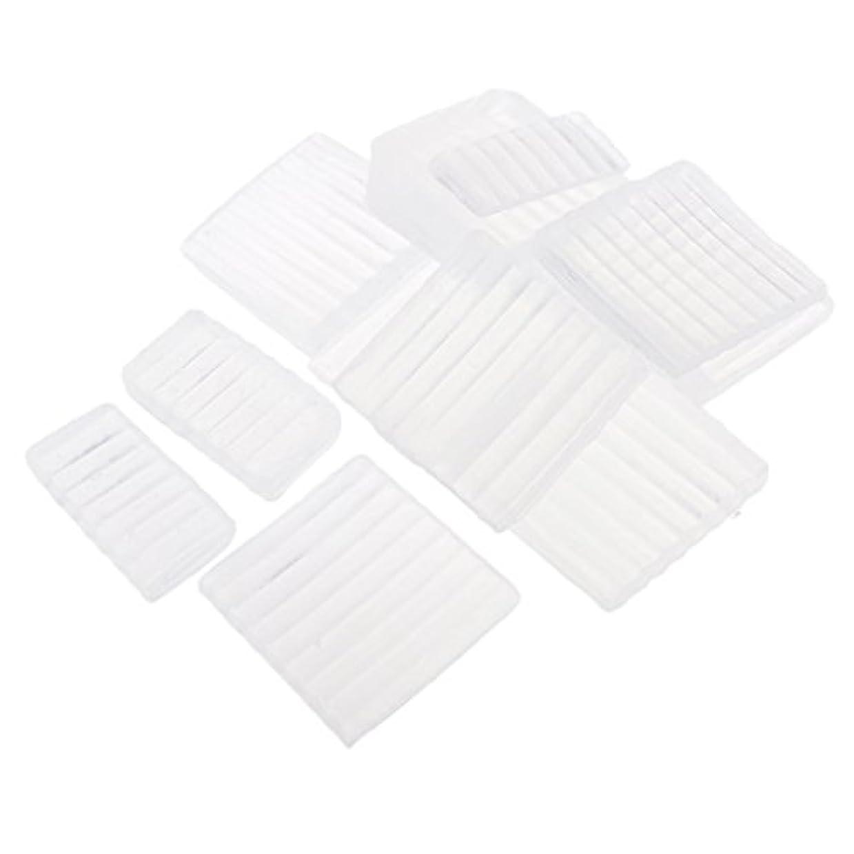 ドループどうしたのくつろぐ約500g ホワイト 透明 石鹸ベース DIY 手作り 石鹸 材料
