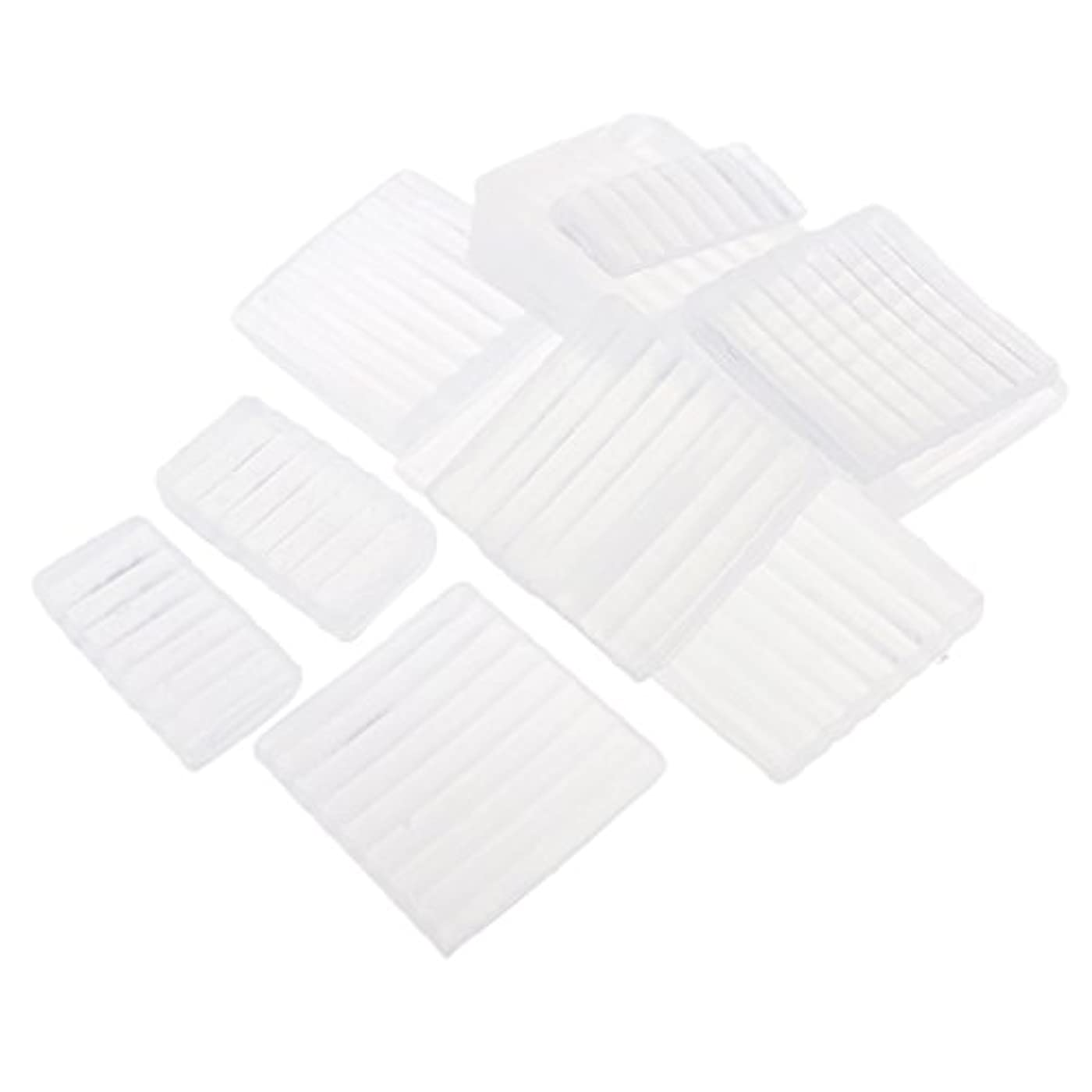 グラディスコイルテレビPerfeclan 約500g ホワイト 透明 石鹸ベース DIY 手作り 石鹸 材料