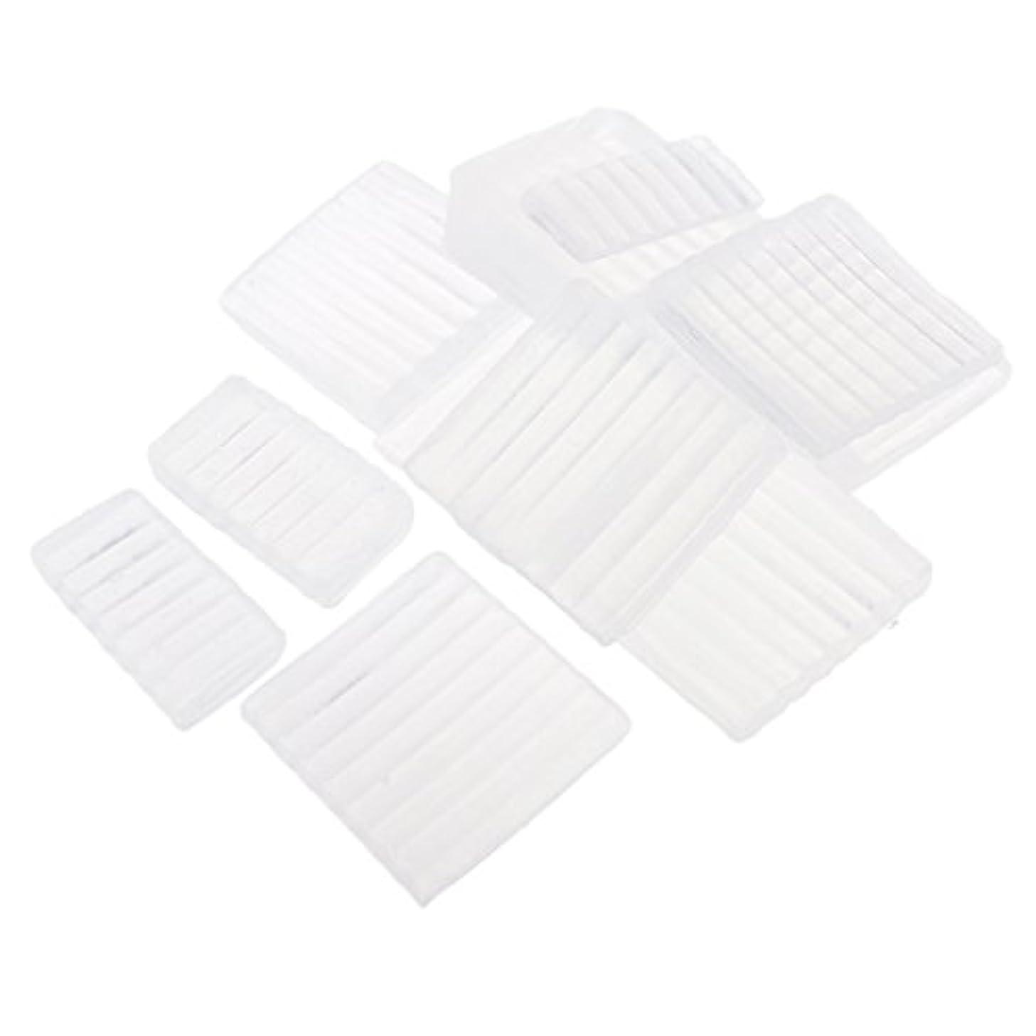 バース効果的請求約500g ホワイト 透明 石鹸ベース DIY 手作り 石鹸 材料