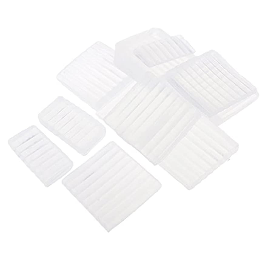 Perfeclan 約500g ホワイト 透明 石鹸ベース DIY 手作り 石鹸 材料