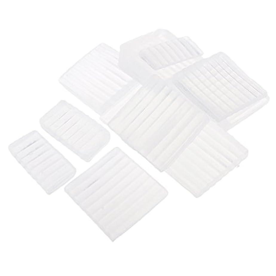 スキッパー拒絶かけがえのないPerfeclan 約500g ホワイト 透明 石鹸ベース DIY 手作り 石鹸 材料