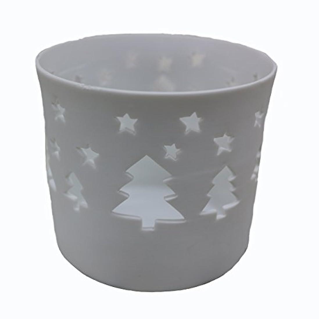ラジウムすすり泣き中級キャンドルカップ(ティーライト付き) ツリー