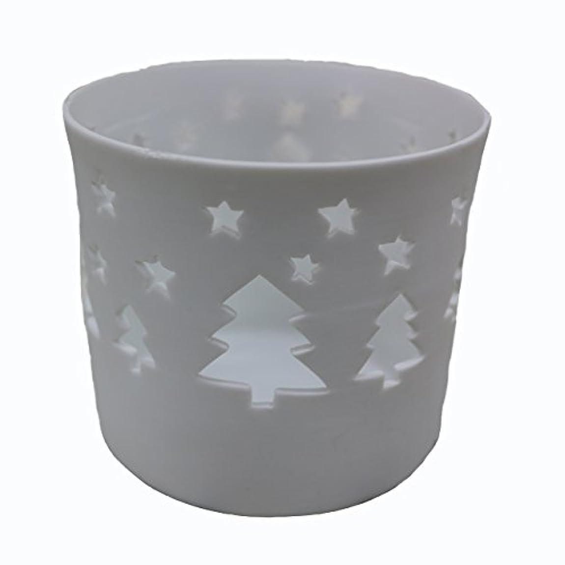 外交問題入場修正するキャンドルカップ(ティーライト付き) ツリー