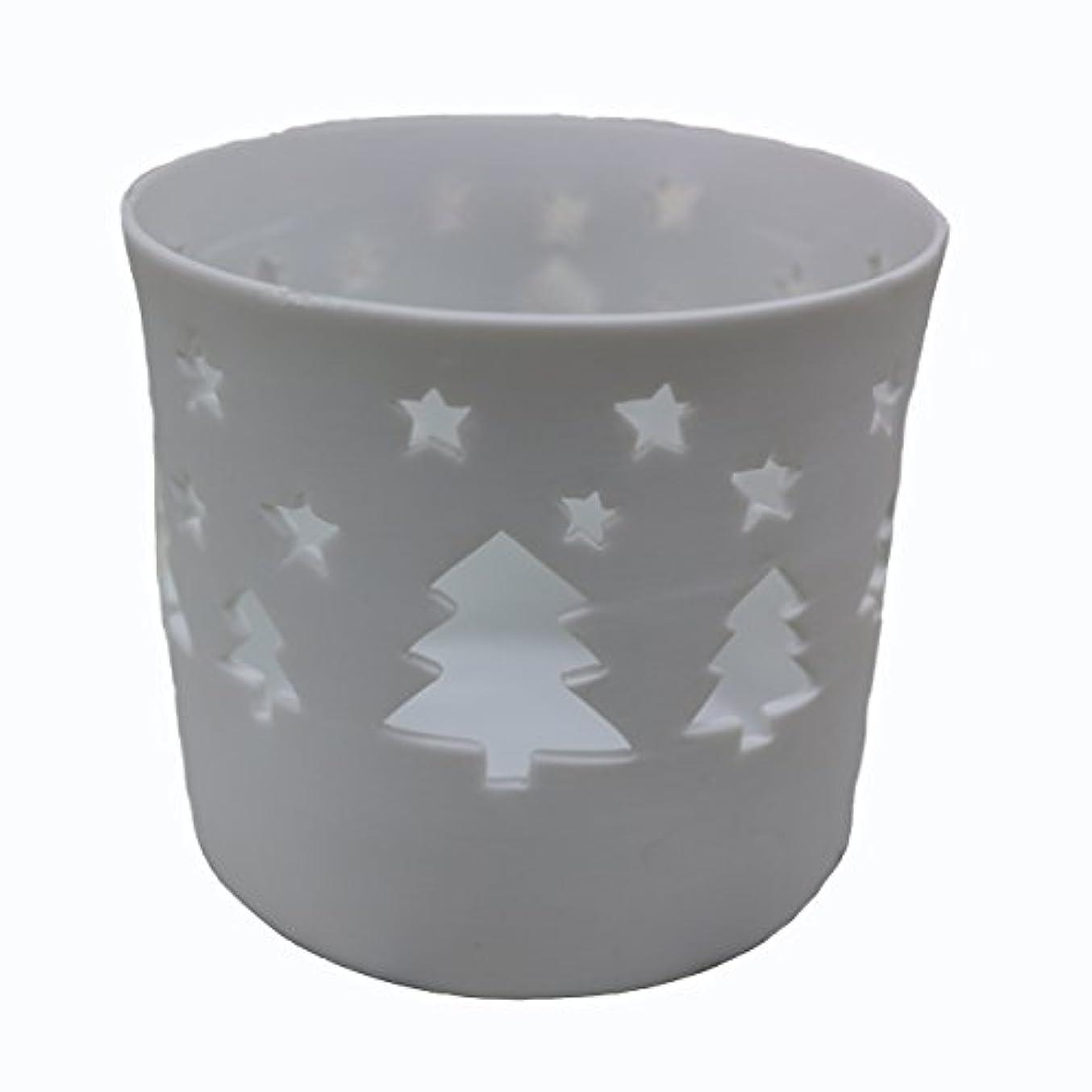 ミンチ中世の大佐キャンドルカップ(ティーライト付き)ツリー