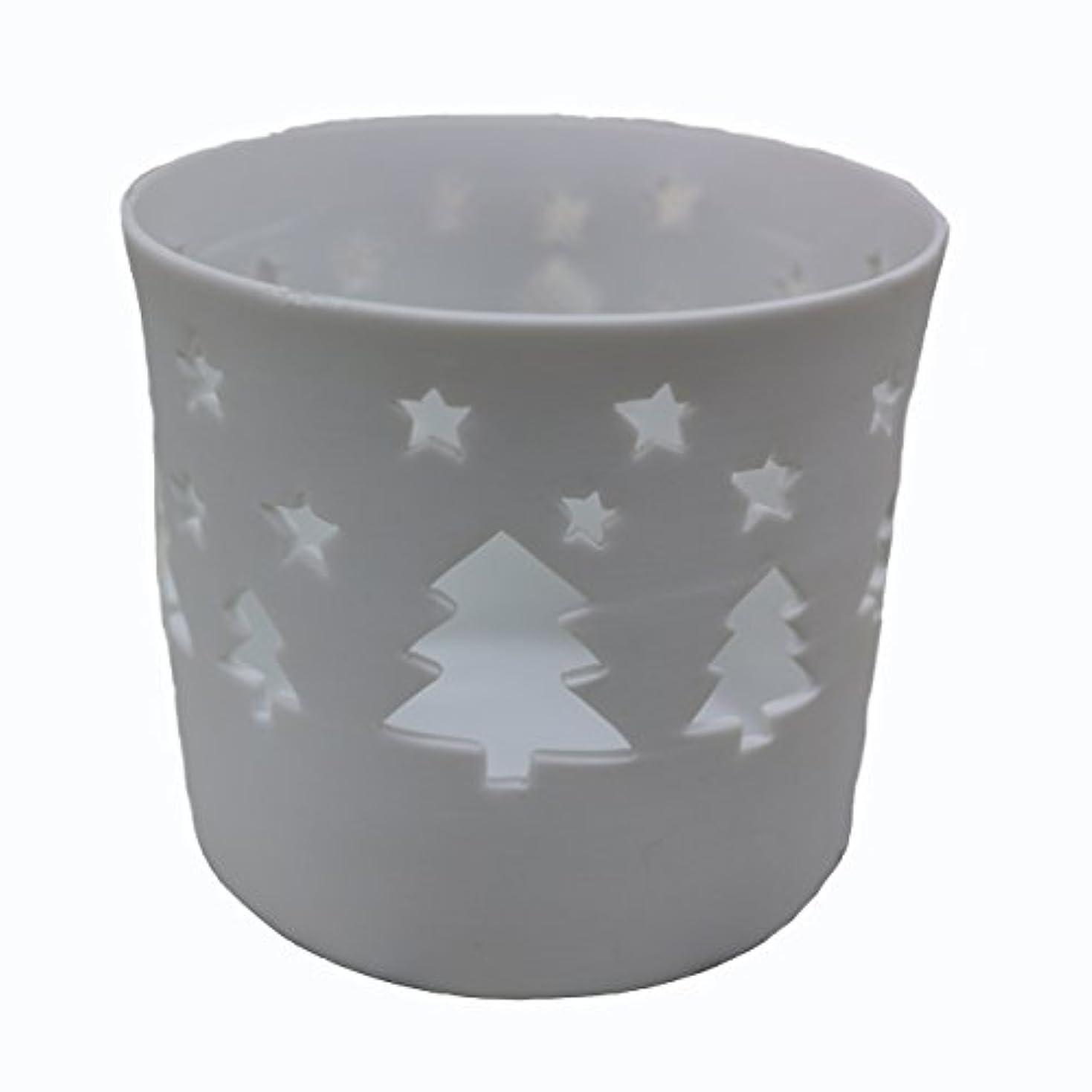 環境に優しいクラブ急行するキャンドルカップ(ティーライト付き) ツリー