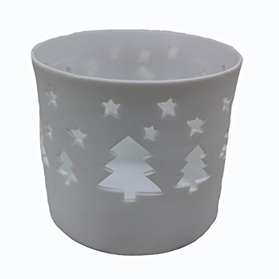 ライラック大惨事岸キャンドルカップ(ティーライト付き) ツリー