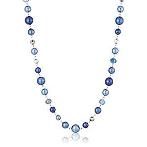 [ランバン オン ブルー] LANVIN en Bleu プチソワレ ブルー パール ロング ネックレス LAPN042585XB