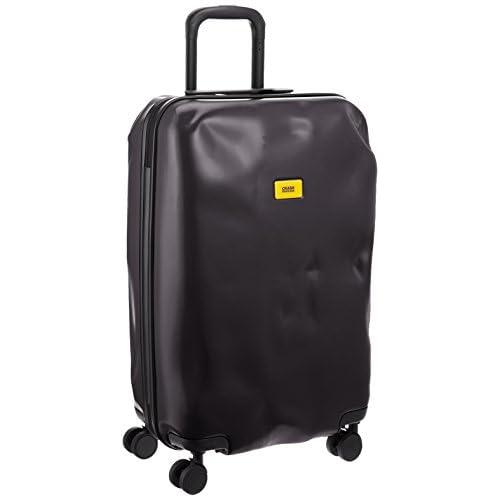 [クラッシュバゲッジ] CRASH BAGGAGE 取扱い注意不要スーツケースPIONEER 無料預入れ受託ミディアムサイズTSAロック搭載 CB102 1 (SUPER BLACK)