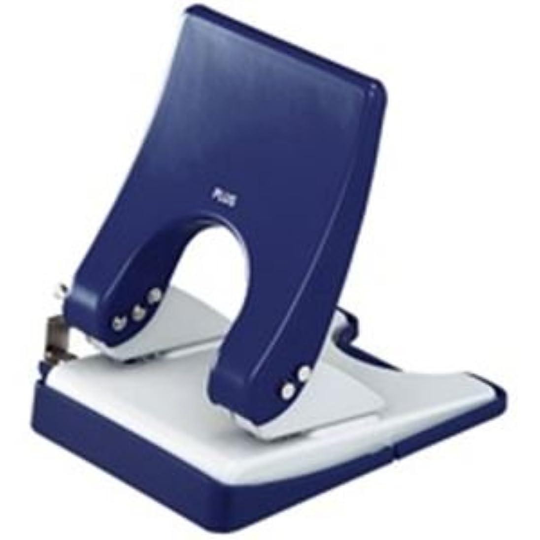 無横たわる無駄(業務用30セット) プラス パンチ フォース1/2 M PU-830A 青