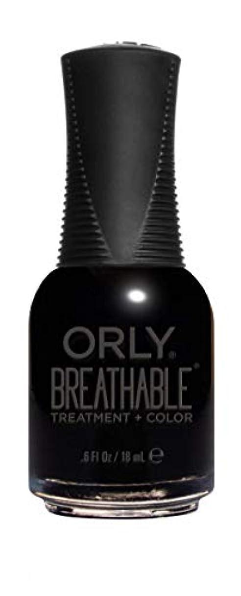 ホップ遅滞佐賀ORLY Breathable Lacquer - Treatment+Color - Mind Over Matter - 18 mL / 0.6 oz