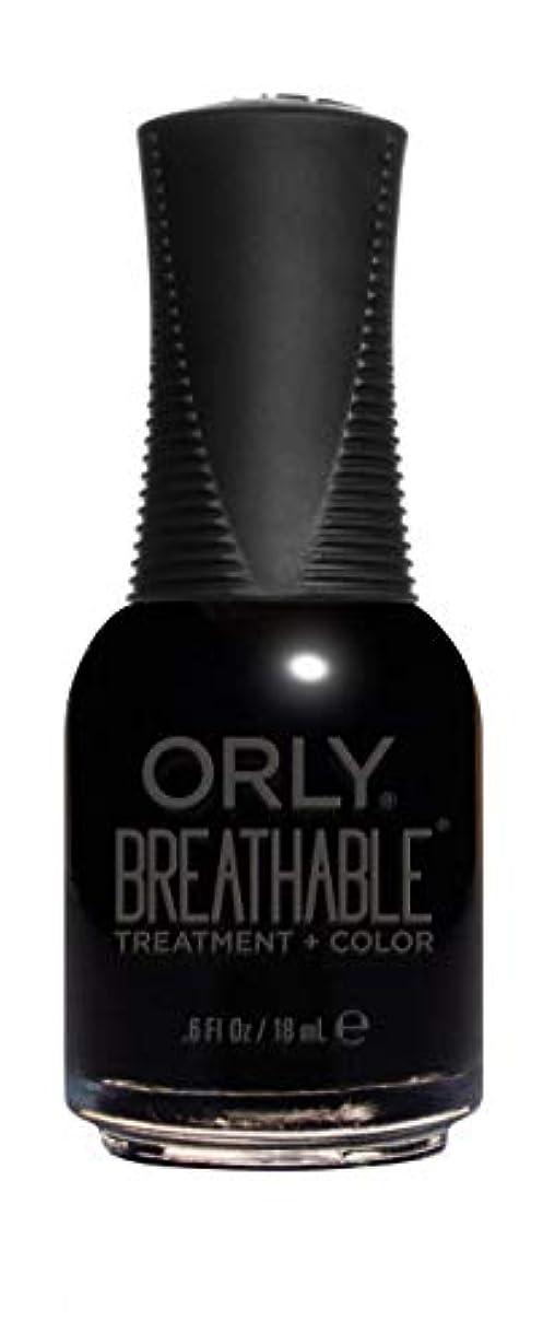 アスリート禁じるコストORLY Breathable Lacquer - Treatment+Color - Mind Over Matter - 18 mL / 0.6 oz