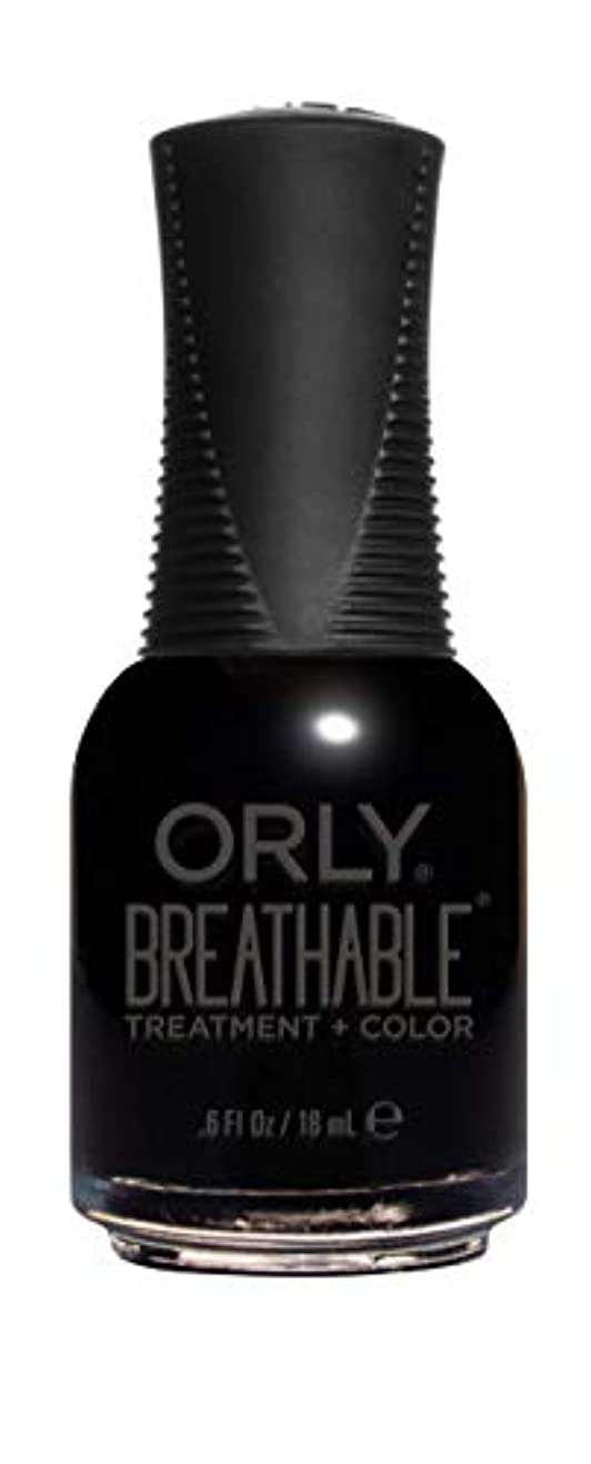 配分味わう準備するORLY Breathable Lacquer - Treatment+Color - Mind Over Matter - 18 mL / 0.6 oz