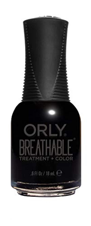 黒人熱帯の申込みORLY Breathable Lacquer - Treatment+Color - Mind Over Matter - 18 mL / 0.6 oz