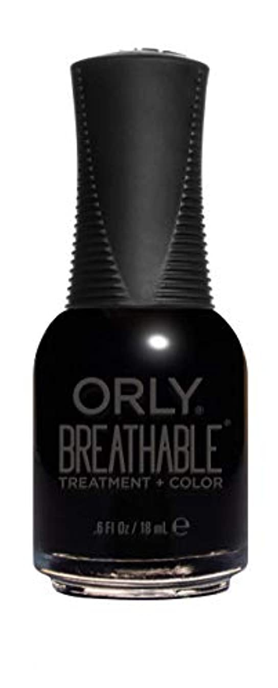 骨髄倫理的鳴り響くORLY Breathable Lacquer - Treatment+Color - Mind Over Matter - 18 mL / 0.6 oz