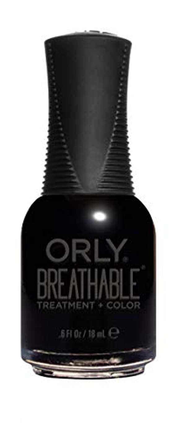 うそつき感覚ジェムORLY Breathable Lacquer - Treatment+Color - Mind Over Matter - 18 mL / 0.6 oz