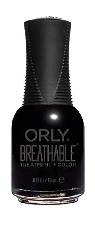 取り替える衝動アストロラーベORLY Breathable Lacquer - Treatment+Color - Mind Over Matter - 18 mL / 0.6 oz