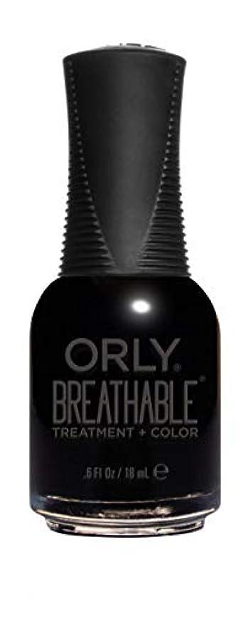 リネン暖かさペグORLY Breathable Lacquer - Treatment+Color - Mind Over Matter - 18 mL / 0.6 oz