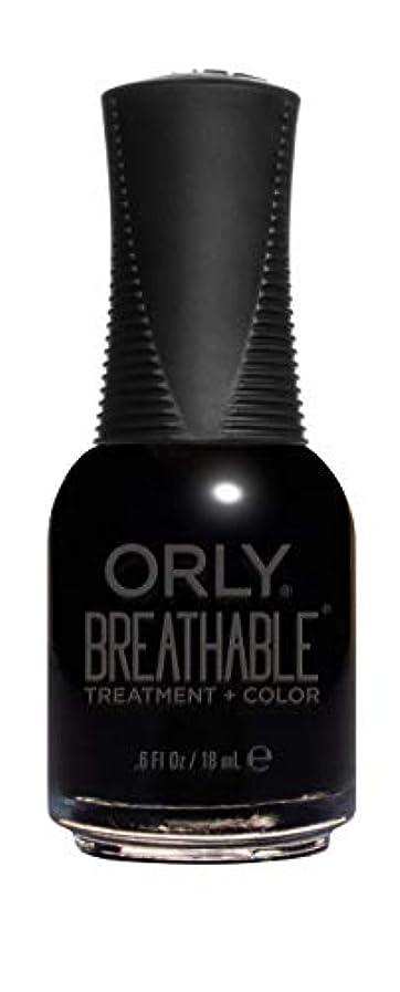 聡明暴露タイトルORLY Breathable Lacquer - Treatment+Color - Mind Over Matter - 18 mL / 0.6 oz