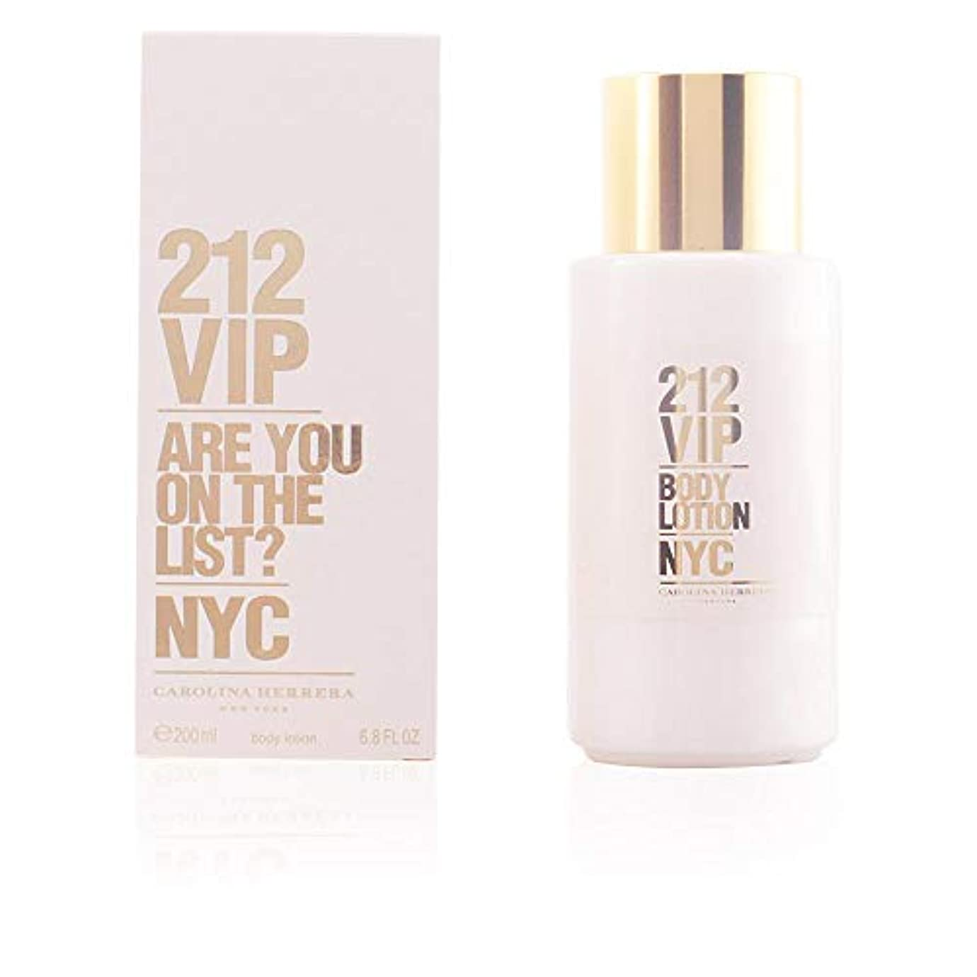 忌み嫌う内陸教えるCarolina Herrera 212 VIP Body Lotion 200ml