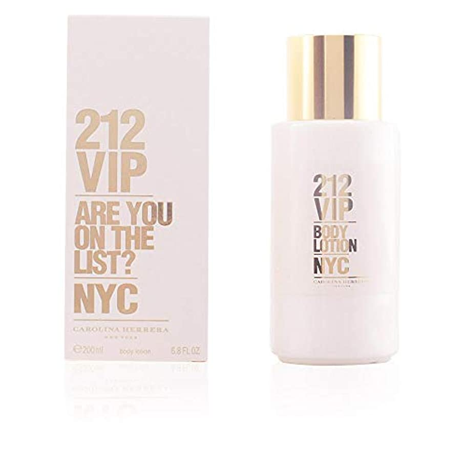 理論泣く差し引くCarolina Herrera 212 VIP Body Lotion 200ml