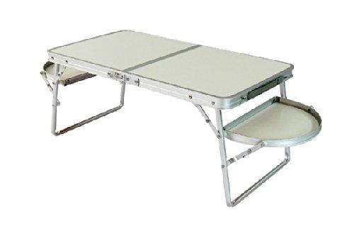 Festcamp ミニウイングテーブル 白い光沢が美しい、軽量で上品な折り畳みテーブル テーブル キャンプ アウトドア 運動会 花見