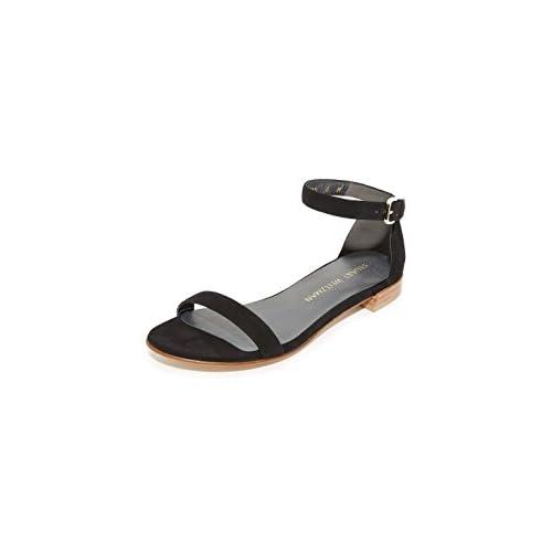 STUART WEITZMAN[スチュワートワイツマン] レディース サンダル Nudist Flat Sandals Black [並行輸入品]