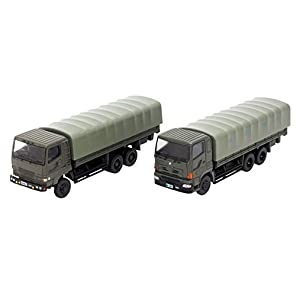 ザ・トラックコレクション トラコレ 自衛隊 特大型トラックセット ジオラマ用品 (メーカー初回受注限定生産)