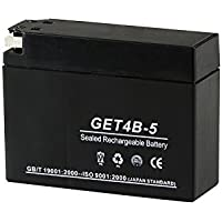 高性能 ジェルバッテリー GET4B-5(GT4B-5互換)