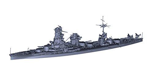 フジミ模型 1/700 特シリーズ No.97EX-2 日本海軍戦艦 日向(昭和17年/5番砲塔無し) (艦底・飾り台付き) プラモデル 特97EX-2
