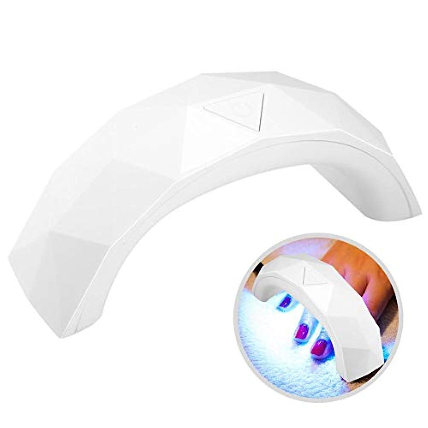 興奮バラバラにするそれによってLEDネイルライト,ネイルドライヤー60 sタイミング紫外線ジェルネイルポリッシュドライ硬化マニキュアusbネイルポリッシュドライヤー