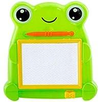 Cinhent Toys, 2 ~ 6歳の男の子 赤ちゃん 女の子 子供用 磁気 図面 グラフィティボード おもちゃ 就学前 教育 手描き 絵画 学習 パズルツール カエル / パンダ 16.5 x 17.5 cm 16.5x17.5cm マルチカラー Cinhent -5630041251240